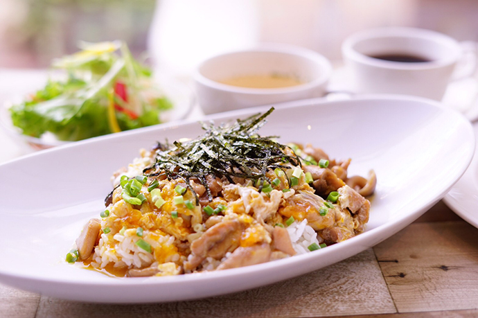 duocafe_ランチ「DUOCAFE風親子丼」