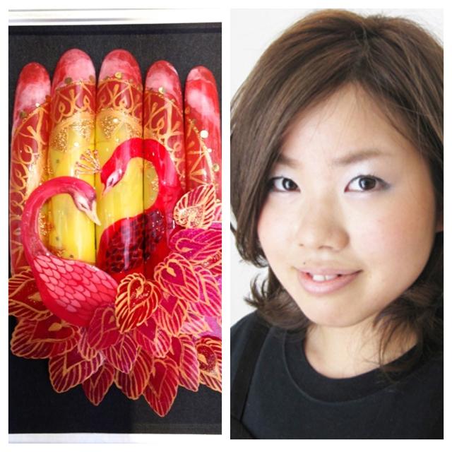 ネイルサロン mslash ネイルコンテスト センター北の野崎由希が金賞を受賞