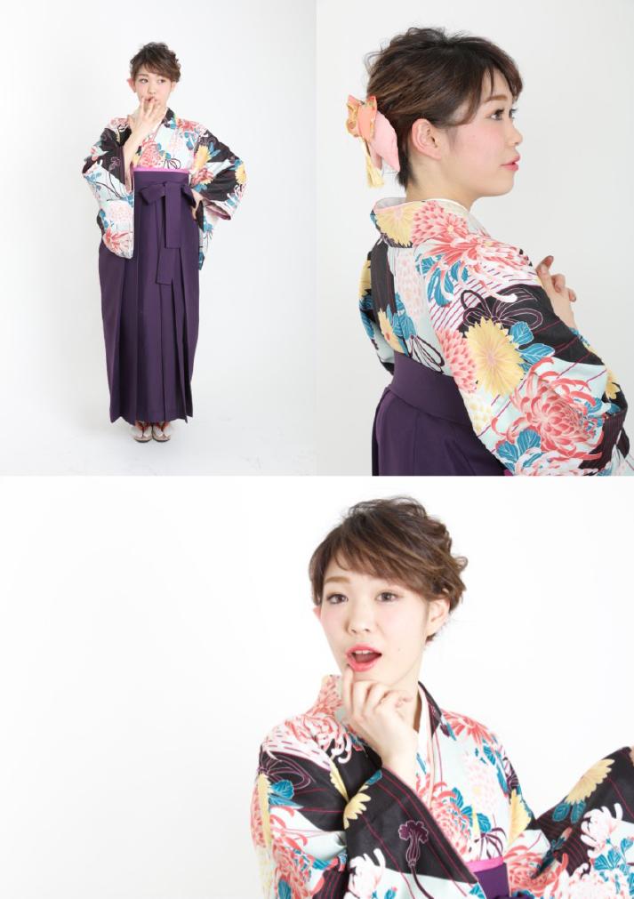 卒業式 袴モデル画像2