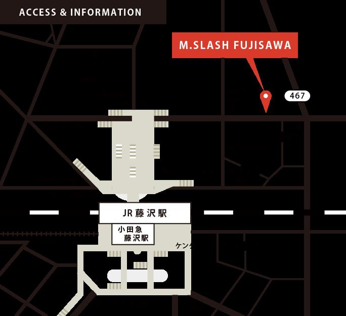 店舗地図・アクセスマップ