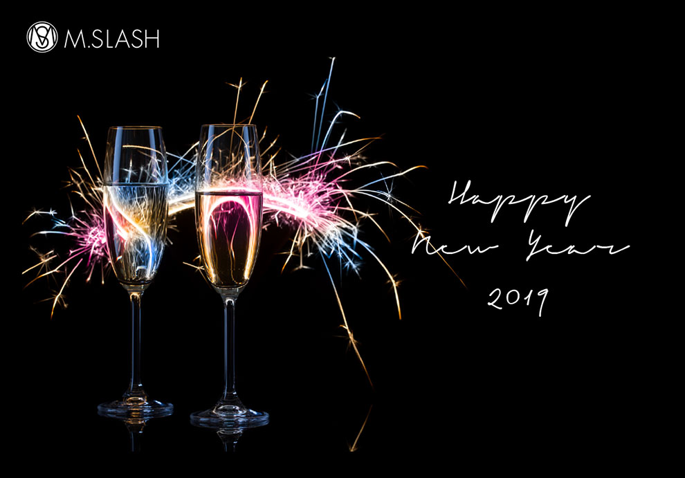 M.SLASH 2019 Happy new year