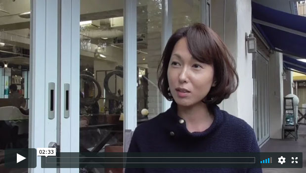 M.SLASH 新百合ヶ丘 カラーリスト吉永のカウンセリング動画