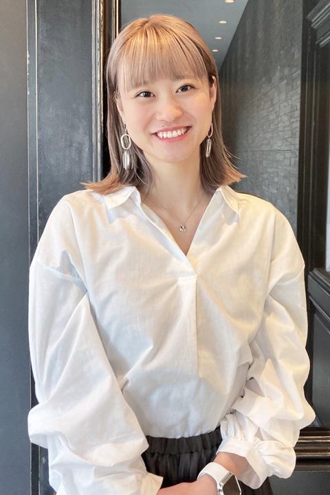 スタイリスト 鈴木 紗耶子